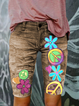 Casual Floral Pants