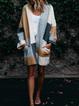 Paneled Long Sleeve Outerwear