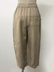 Linen Casual Mid Weight Pants