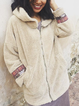 Apricot Tribal Long Sleeve Printed Outerwear