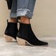 Women's Chunky Heel Vintage Chic Boots