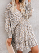 V Neck As Picture Women Dresses Daily Casual Chiffon Dresses