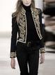 Black Long Sleeve Outerwear