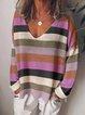 Color-Block Long Sleeve Shirts & Tops