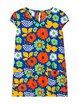 Multicolor Women Floral Dresses Daily Floral-Print Floral Dresses