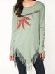 Long Sleeve Cotton-Blend Shirts & Tops
