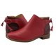 Womens Bow-Tie Boots Low Heel Ankle Booties