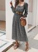 Women Floral Dresses Daily Vintage Floral Dresses