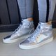 New Women Casual Fashion High Top Shoes Sneakers