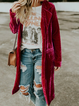 Holiday Velvet Solid Outerwear