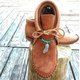 Camel All Season Cowhide Leather Flat Heel Daily Boots