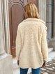 Long Sleeve Shawl Collar Buttoned Coats