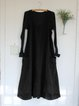 Plus Size Maxi Dresses Pockets Sleeveless Solid Dresses