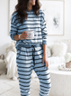 Plus size Casual Long Sleeve Cotton Suits