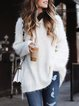 Plus size sweater Cotton Casual Knitted Shirts & Tops