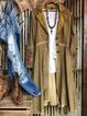 Casual Shirt Collar Cotton-Blend Plus Size Outerwear