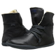 Leather Flat Heel Boots