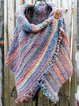 Women's  Casual Multicolor Shift 3/4 Sleeve Scarves & Shawls