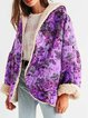 Printed Cotton-Blend Hooded Long Sleeve Outerwear