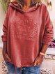 Cotton Hoodie Casual Plus Size Sweatshirt