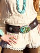 Black-Brown Pu Belts