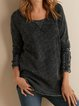 Plus size  Cotton Casual Shirts & Tops