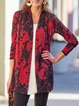 Casual Cotton-Blend Plus Size Cardigan