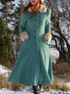 Plus size Vintage Cotton Outerwear