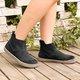 Women  Winter Vintage Slip-On Ankle Boots