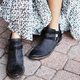 Double-breasted Ankle Booties