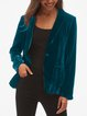 Long Sleeve Casual Paneled Outerwear