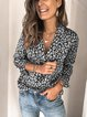 Sweet Long Sleeve Cotton Floral Shirts & Tops