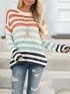 Short Sleeve Acrylic Casual Paneled Shirts & Tops