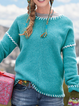 Casual Knitted Plus Size Sweater