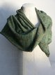 Deep Green Unisex Casual Solid Cotton Scarves & Shawls