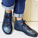 Women PLUS Size  Lace-Up Casual Boots