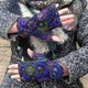 Multicolor Vintage Gloves & Mittens