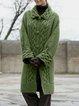 Plain Long Sleeve Outerwear