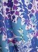 Women plus size skeeveless floral casual boho dresses