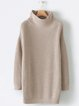 Casual Long Sleeve plus size Sweater