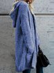 Hoodie Casual Flannel Outerwear