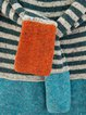 Casual Cotton-Blend Crew Neck Sweater
