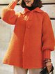 Vintage Shawl Collar Outerwear