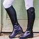 Womens Color Block Outdoor Fall Flat Heel Boots