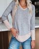 Long Sleeve Plain Sweater