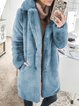 Casual Turn-down Collar Buttoned Long Sleeve Pockets Outerwear