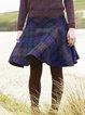 Cotton-Blend Vintage Skirts