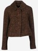 Vintage Wool Blend Casual Outerwear