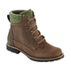 Womens Low Heel Daily Split Joint Leather Boots