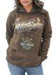 Plus Size Long Sleeve Statement Hoodie Casual Sweatshirt